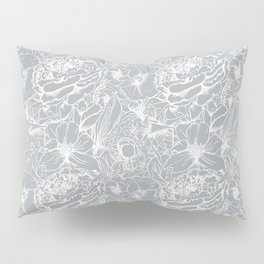 Of Peonies & Poppies - Paloma Blue Edition Pillow Sham