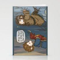 lotr Stationery Cards featuring Bilbo the burglar by BlacksSideshow