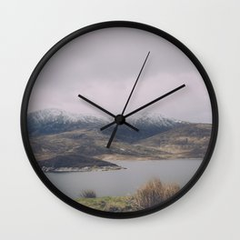 Vintage Mountain 26 Wall Clock