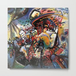 Wassily Kandinsky | Moscow I Metal Print