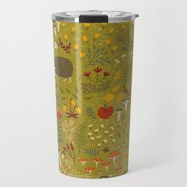 Hedgehog Meadow Travel Mug