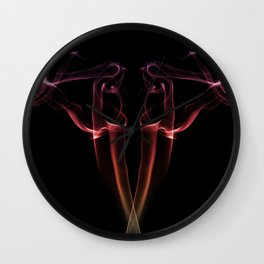 Smoke Gets in Your Eyes Wall Clock