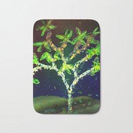 Abstract Tree Bath Mat