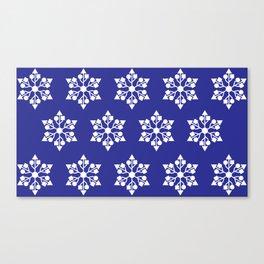 usb snowflakes Canvas Print