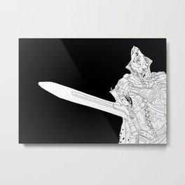 Abyss Watcher Metal Print
