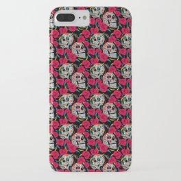 Sugar & Roses iPhone Case