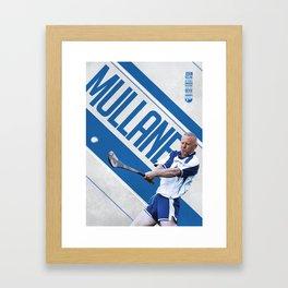GAA Posters – John Mullane Framed Art Print