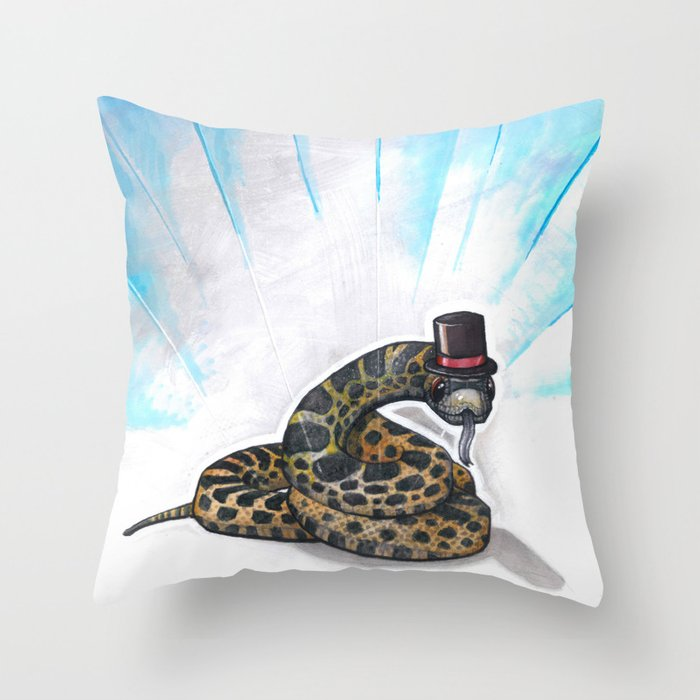 Ssssseriously Throw Pillow