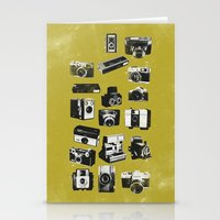 cameras Stationery Cards featuring Cameras by ELCORINTIO
