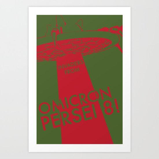 OMICRON PERSEI 8 Art Print