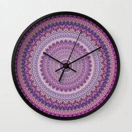 Mandala 489 Wall Clock