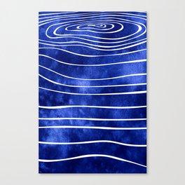 Tide X Canvas Print