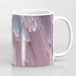 Iridescent Shadows Glitches Coffee Mug
