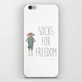 Socks for Freedom iPhone Skin