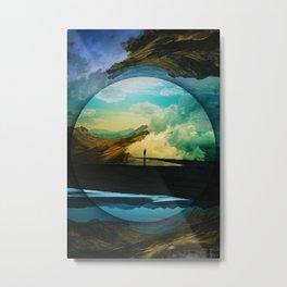 Sphere Reality Metal Print