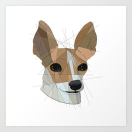 Chihuahua Pup Art Print