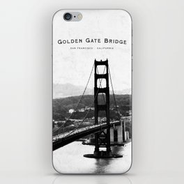 Golden Gate Bridge - San Francisco iPhone Skin