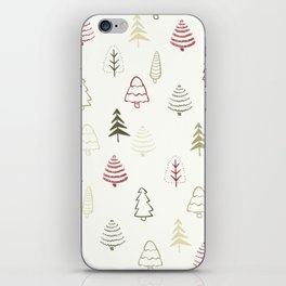 Winter Trees in Snowy Day iPhone Skin