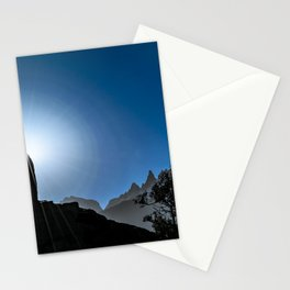 Patagonia Landscape Scene, Aysen, Chile Stationery Cards