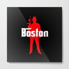 Boston mafia Metal Print