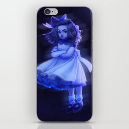 Ghost Girl (#Drawlloween2016 Series) iPhone Skin
