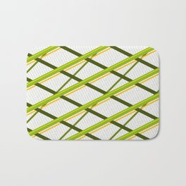 Deco Stripes Avacado Bath Mat