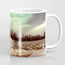 Epic Lake Scenery and Dramatic Sky Coffee Mug