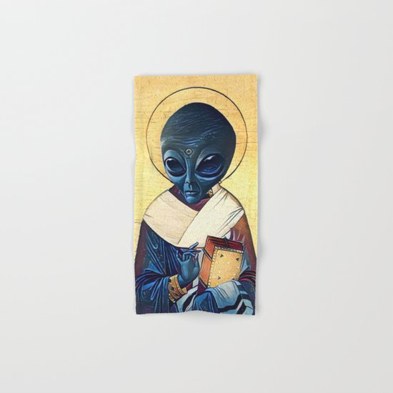 St. Alien Hand & Bath Towel