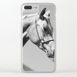 horse collection. arabian Clear iPhone Case
