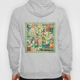 Such a wonderful world - Patchwork Hoody