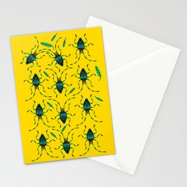 Shield Bugs Stationery Cards