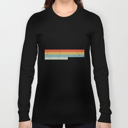 Kansas Design Gift & Souvenir For Kansas Print Long Sleeve T-shirt