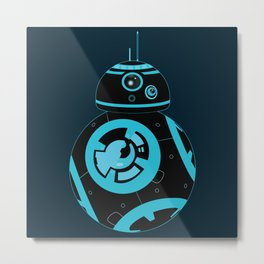 bb-rezzed Metal Print