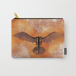 The Da Vinci Flying Machine Carry-All Pouch