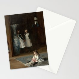 The Daughters of Edward Darley Boit by John Singer Sargent (1882) Stationery Cards
