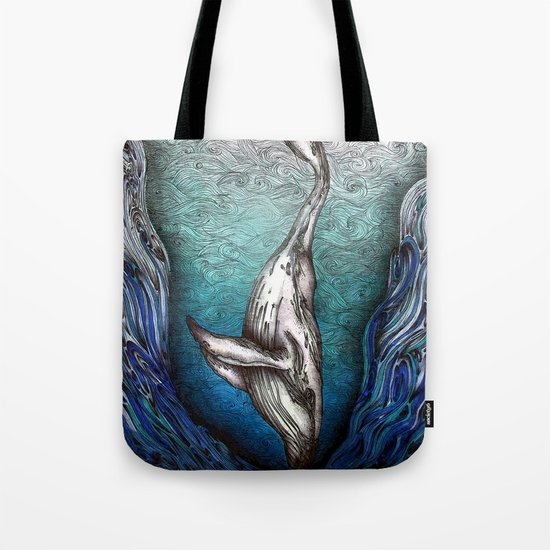 Into the Darkest Depths Tote Bag