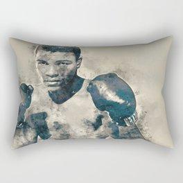 Ali, The Greatest Rectangular Pillow