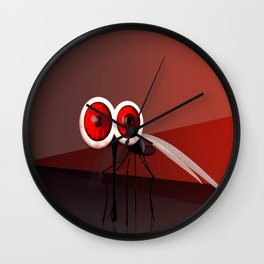 Mosquito Wall Clock