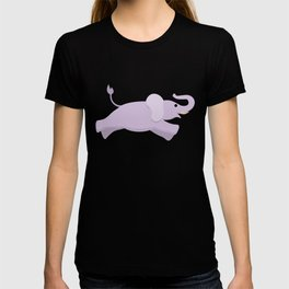 Cute Elephant Jumping T-shirt