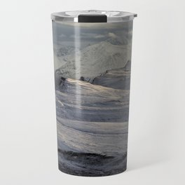 Trotternish Peninsula and Cuillin Mountains Isle of Skye Travel Mug