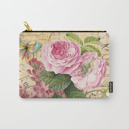 Vintage Flower #23 Carry-All Pouch