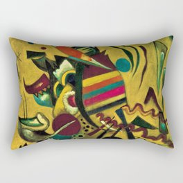 Points, 1920 Abstract by Wassily Kandinsky Rectangular Pillow