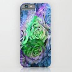 3D Flowers-3 iPhone 6s Slim Case