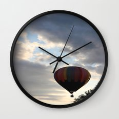 Adrift Amongst the Clouds Wall Clock