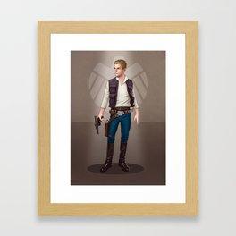 A Galaxy ar Away - Fitz Framed Art Print