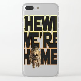 Chewie We're H Clear iPhone Case