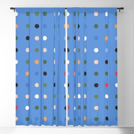 Exist Freely - Blue Blackout Curtain