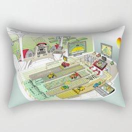 Agrarian Rectangular Pillow
