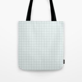 light green squares Tote Bag