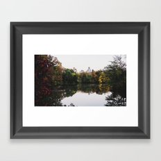 Central Park Fall Series 2 Framed Art Print